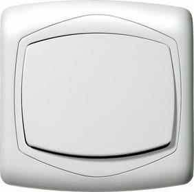 Ospel Wyłącznik ŁP-1C/00 Ton biały 1-biegunowy