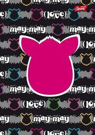 Brulion A5 Furby w kratkę 96 kartek May-may-