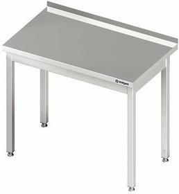 Stalgast Stół przyścienny bez półki W400xD700xH850 mm (980017040)