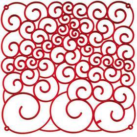 Koziol Panel dekoracyjny Amadeus czerwony 1122536