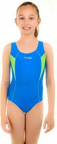 Aqua Speed Strój kąpielowy jednoczęściowy, dziewczęcy KATE 4kolory 413