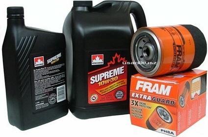 FRAM Filtr oraz olej silnikowy 10W30 Ford Explorer 4,0 V6