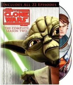 Gwiezdne Wojny: Wojny Klonów sezon 2 DVD