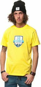 Horsefeathers T-shirt męski LABEL t-shirt (yellow)