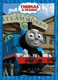 Thomas and Friends Thomas - Obraz, reprodukcja z efektem 3d