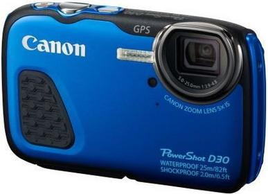 Canon PowerShot D30 niebieski