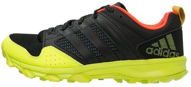 Adidas Performance KANADIA 7 TR Obuwie do biegania Szlak core black/solar yellow