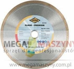 CEDIMA diamentowa tarcza FLIESE PREMIUM (ZAMKNIĘTA KRAWĘDŹ TNĄCA)
