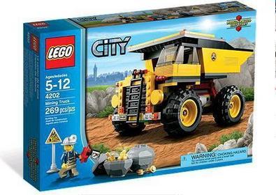 LEGO CITY - Ciężarówka górnicza 4202