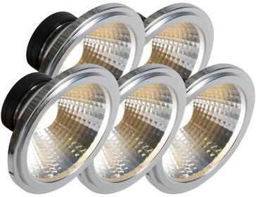 QAZQA Zestaw 5 zarówek LED 7W