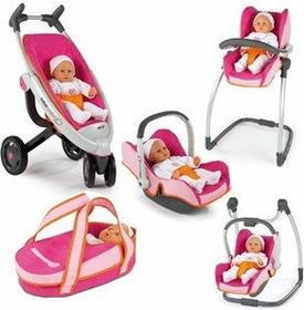 Smoby Maxi Cosi Krzesełko Do Karmienia Wózek Spacerówka Fotelik 5W1- 551490