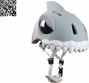 Crazy Safety Kask - Biały Rekin