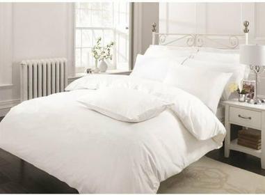 Pościel Dekoria Pościel bawełna Bianco biała gładka