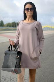 SakoLife Tunika - sukienka z kieszeniami