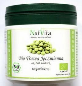NatVita : młody jęczmień tabletki BIO - 240 szt.