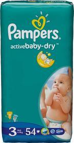 Pampers Active Baby 3 Midi 54 szt.