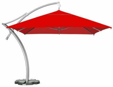 LITEX Promo Sp. z o.o. Parasol ogrodowy Ibiza Quattro 3,5x3,5m Quattro Czerwony