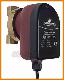 Weberman Pompa do cyrkulacji c.w.u. typ CP15-1.5 0101W