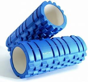 Wałek do masażu Foam Joga Roller Flexifit - niebieski