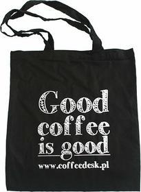 Torba na zakupy eko - Good Coffee Is Good - Czarna