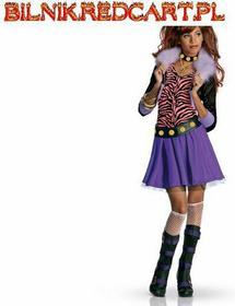 Monster High rubies Kostium dla dzieci Luxe Clawdeen Wolf Rozmiar 5-7 lat + Kame
