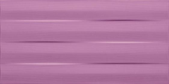 Tubądzin Maxima Płytka ścienna 22,3x44,8 Fioletowy Purple Struktura
