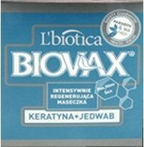 Lbiotica BIOVAX KERATYNA + JEDWAB Intensywnie regenerująca Maseczka 250ml