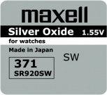 Maxell bateria srebrowa mini 371 / 370 / SR 920 SW / G6