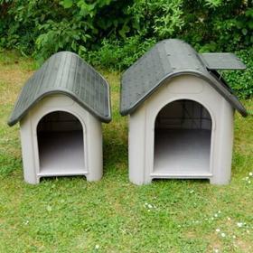 Zooplus Buda dla psa Polly z tworzywa sztucznego - XS: dł. x szer. x 60 x 74 x 6