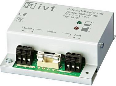 Kontroler ładowania słonecznego Ivt 8 A 12/24 V