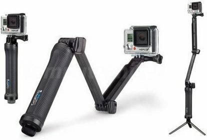 GoPro 3-Way Grip | Arm | Tripod AFAEM-001
