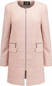 krótki płaszcz różowy 52952017