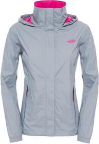 The North Face Kurtka W Resolve Jacket Mid szary/Luminous Pink XL