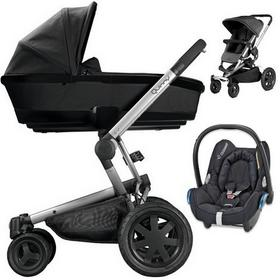 Quinny BUZZ XTRA 3w1 ROCKING BLACK