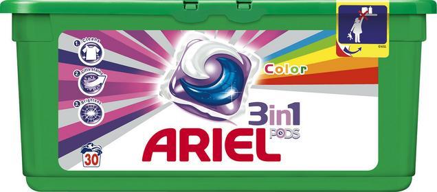 Ariel elowe kapsułki do prania Color 30szt 0064170388