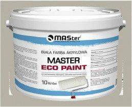 MASter Biała farba akrylowa Eco Paint paleta 44 x 10L M-EP-10-PAL