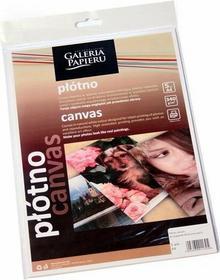 Canvas Płótno do drukarek atramentowych Galeria Papieru, format A4 opakowanie 5