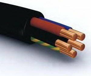 Kable i Przewody wyprodukowane w UE Kabel ziemny YKY 5x25 NYY-J/O 0,6/1kV