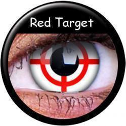 Maxvue Vision Vision Crazy Wild Eyes - Red Target (2szt.)