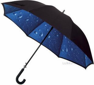 Impliva Duży Parasol dwuwarstwowy krople deszczu ZGP-53-R