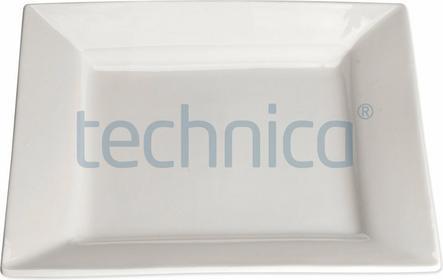 Stalgast Talerz płytki kwadratowy 250 mm | , Elegantia STALGAST-397019