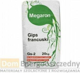 Megaron Gips szpachlowy francuski 20 kg