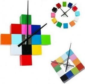 Karlsson Zegar ścienny DIY Cubic Multi Colour KA4306