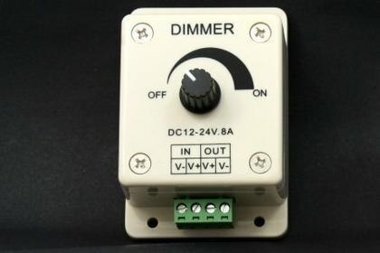 MPL Power Elektro Ściemniacz płynny sznura LED RGB 8A DC12-24V.8A