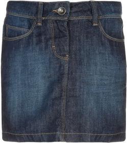 Esprit Spódnica jeansowa superdark denim 124EE5D002