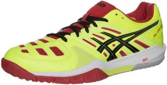 Asics GELFASTBALL Buty do piłki ręcznej flash yellow/black/chines red E414Y