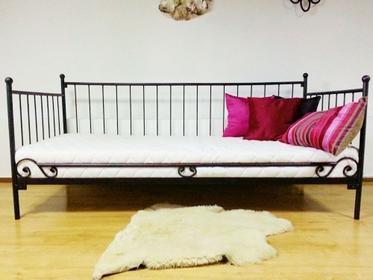 Grupa Lak System Łóżka metalowe Łóżko metalowe sofa salon sypialnia 90x200 WZÓ
