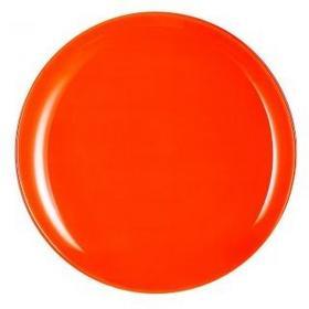 Luminarc Talerz płaski Arty 26 cm Pomarańczowy
