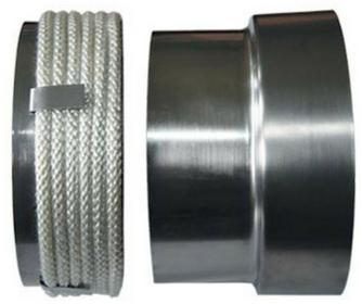 300 30054499 Przejście stalowa - komin ceramiczny fi 220