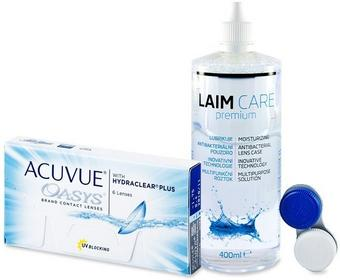 Johnson&Johnson Acuvue Oasys 6 szt. + płyn Laim-Care 400ml